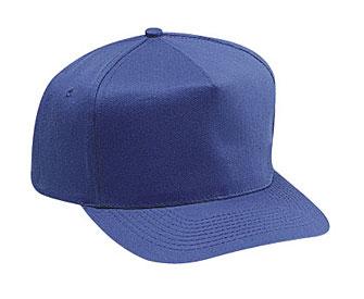 OTTO Cap 31-069 - Cotton Blend Twill 5-Panel Mid Profile Baseball Cap