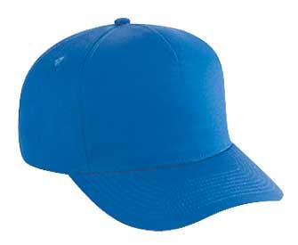 OTTO Cap 31-539 - Cotton Twill 5-Panel Mid Profile Baseball Cap