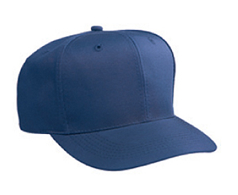 Cotton twill solid and two tone color six panel low crown pro style caps