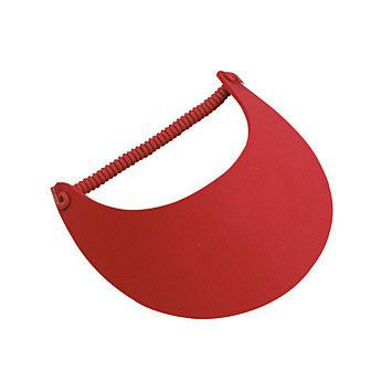 "Foam solid color large bill sun visors, 9"" W x 4 3/4"" D"