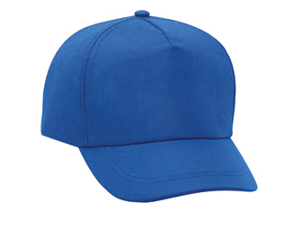 Non-woven polypropylene solid color five panel pro style caps