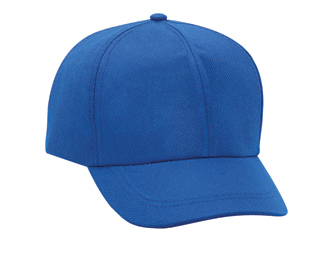 Non-woven polypropylene solid color six panel low profile pro style caps
