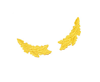 Oak leaf emblems (sold in pairs)