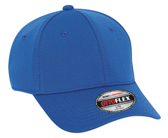 OTTO Flex Cool Comfort stretchable polyester cool mesh solid color six panel low profile pro style caps