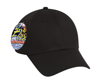 OTTO Flex stretchable deluxe cotton twill solid color six panel low profile pro style cap