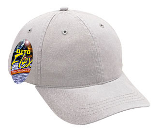 OTTO Flex stretchable garment washed cotton twill solid and two tone color six panel low profile pro style caps