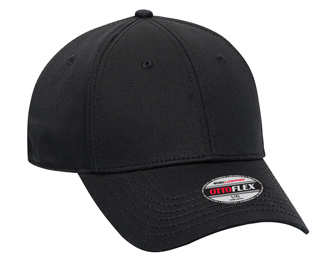 OTTO Flex stretchable superior cotton twill solid color six panel low profile pro style caps