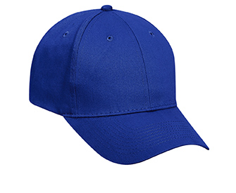 Promo brushed cotton twill solid color six panel low profile pro style caps