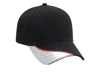 Superior brushed cotton twill withdiamond plate visor ...