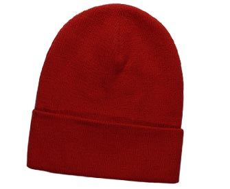 Superior cotton knit solid color beanies, 12