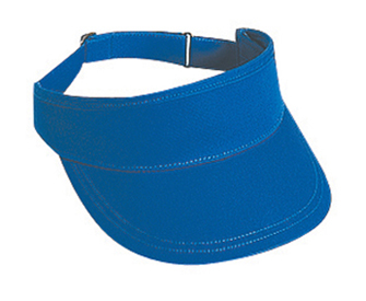 Superior cotton twill solid color sun visors