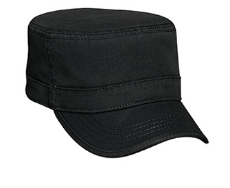 Superior garment washed cotton twill binding trim visor ...