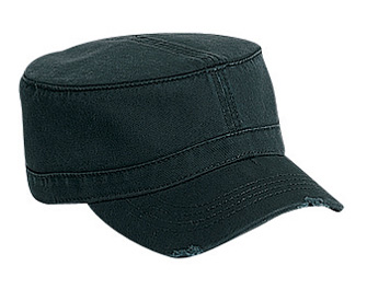 OTTO Cap 62-792 - Garment Washed Superior Cotton Twill Distressed Visor Military Hat
