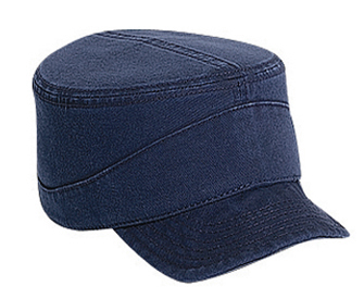 Superior garment washed cotton twill flexible soft visor ...