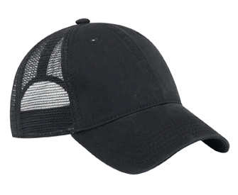 OTTO Cap 121-858 - Garment Washed Cotton Twill 6-Panel Low Profile Trucker Hat