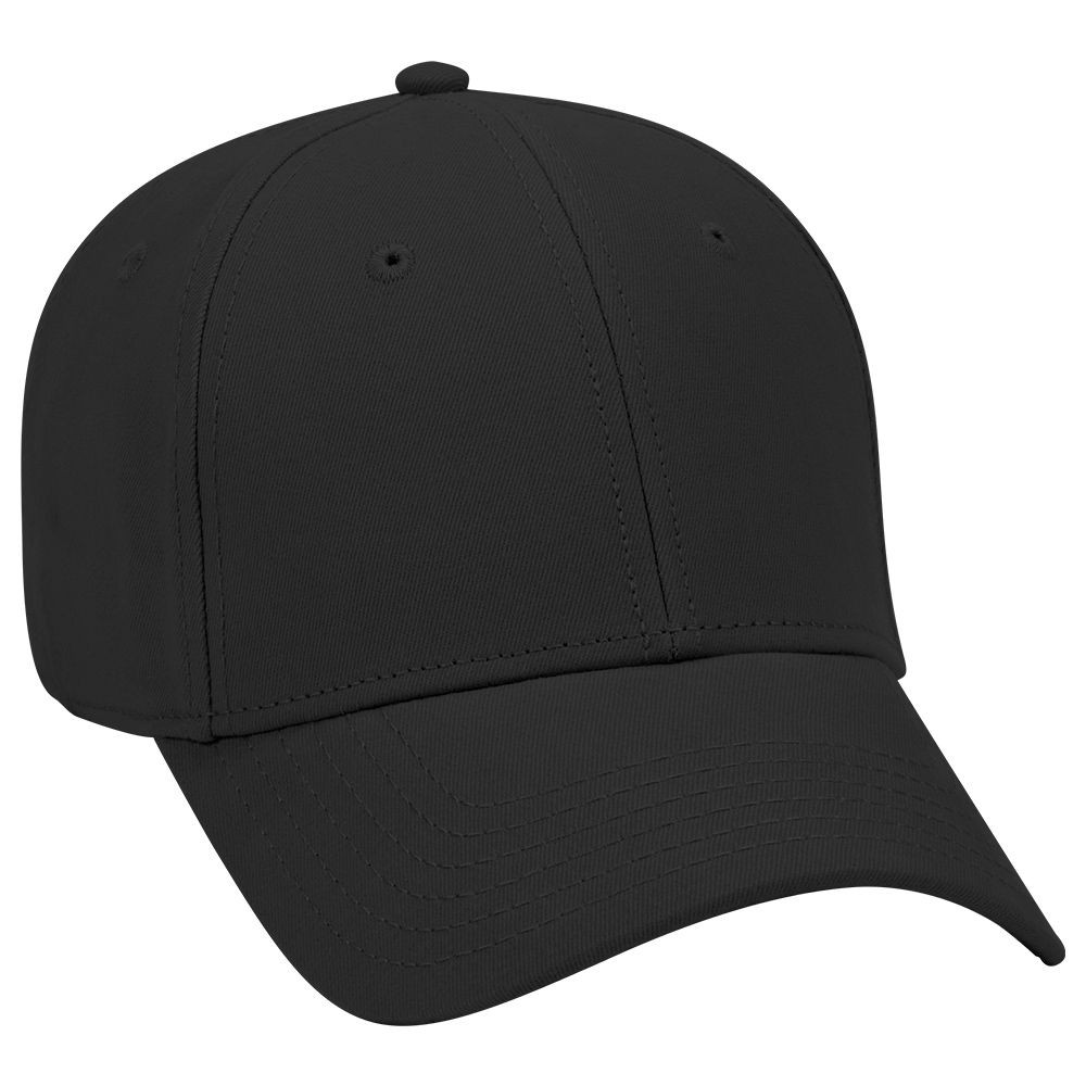 Ultra soft superior brushed cotton twill solid color six panel low profile pro style caps
