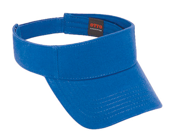 Ultra soft superior brushed cotton twill solid color sun visors