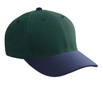 Wool blend gray undervisor solid and two tone color six panel low profile pro style caps