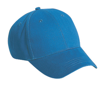 Youth brushed cotton twill solid color six panel low profile pro style caps