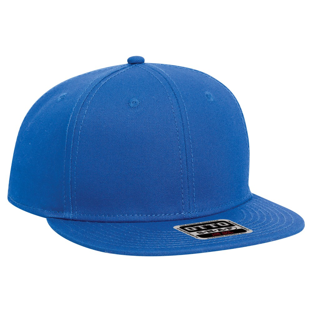 Youth superior cotton twill flat visor snapback solid ...