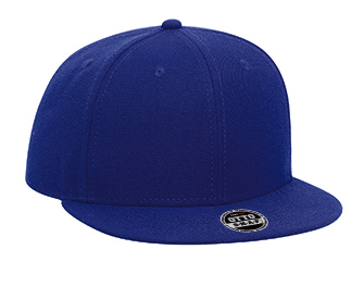 Youth wool blend flat visor snapback solid color six ...