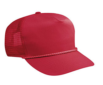 f0d00deee98 ... Cotton twill solid and two tone color five panel high crown golf style  mesh back caps ...