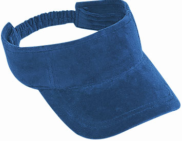 Superior terry cloth solid color sun visors
