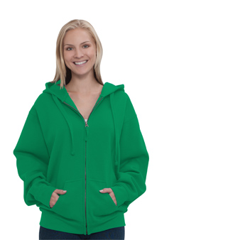 Unisex 8.0 oz. Full-Zip Hooded Sweatshirts
