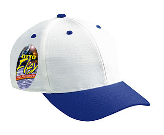 OTTO Flex stretchable wool blend solid and two tone color six panel low profile pro style caps
