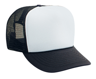 OTTO Cap 39-169 - High Crown Polyester Foam Front 5-Panel Trucker Hat
