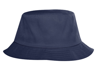 Promo cotton twill solid color six panel bucket hats