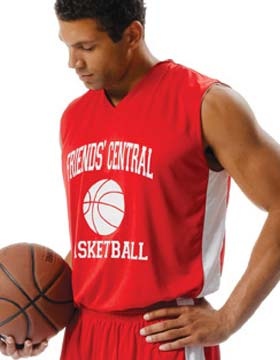 A4 N2320 - Reversible Moisture Management Muscle Jersey