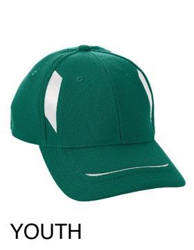 Augusta Sportswear 6271 - Youth Wicking Mesh Edge Cap