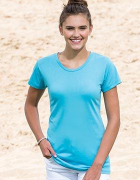 Enza 03079 - Ladies Essential Short Sleeve Crew Neck ...
