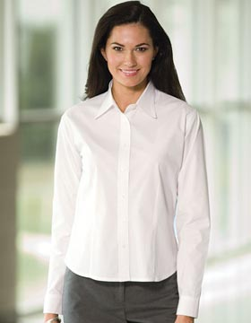 Enza 03579 - Ladies Stretch Cotton Poplin Shirt