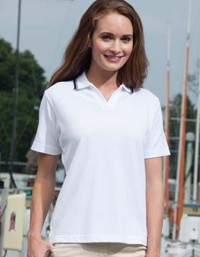 Enza 05779 - Ladies Tipped Pique Sport Shirt