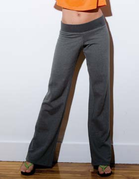 Enza 06079 - Ladies Vintage Straight Leg Fleece Pant
