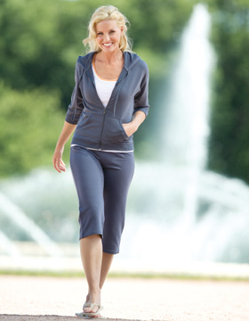 Enza 06679 - Ladies Straight Leg Modal Capri
