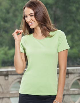 Enza 07279 - Ladies Corporate Scoop Neck Tee