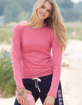 Enza 07979 - Ladies Long Sleeve Featherweight Tee (Closeout)...