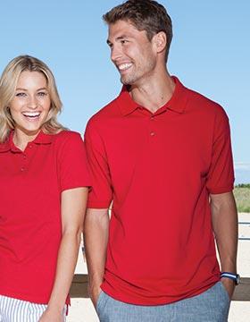Enza 15079 - Soft Touch™ Blended Pique Sport Shirt