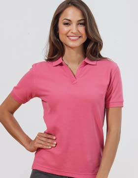 Enza 19479 - Ladies Pima Cotton Sport Shirt