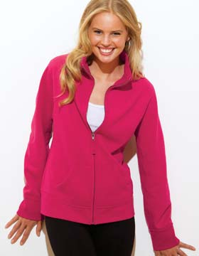 Enza 33079 - Ladies Fleece Track Jacket