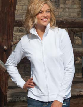 Enza 33779 - Ladies Relaxed Fit Full Zip Jacket