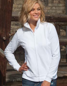 Enza 33779 - Ladies Relaxed Fit Full Zip Jacket