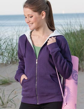 Enza 34779 - Ladies Thermal Lined Full Zip Hoodie