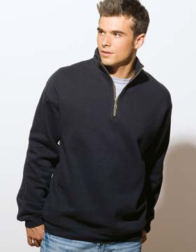 Enza 35579 - Men's Quarter Zip Fleece Pullover