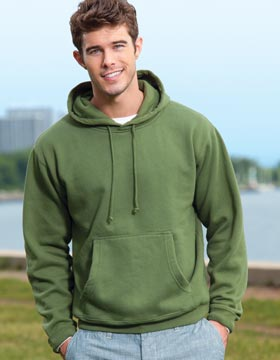 Enza 35779 - Enzyme Washed Pullover Fleece Hood