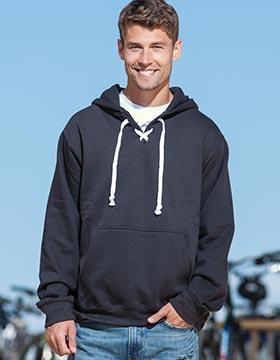 Enza 35979 - Hockey Lace Hooded Sweatshirt
