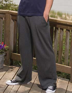 Enza 38079 - Men's Open Bottom Fleece Pant